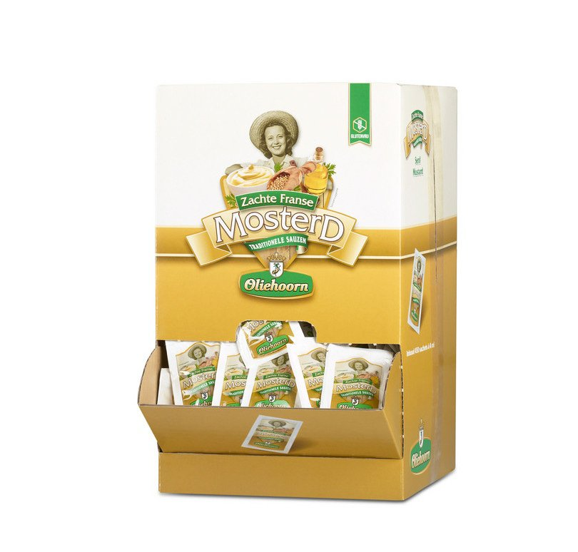 Oliehoorn | Mosterd | 450 x 5 ml sachets