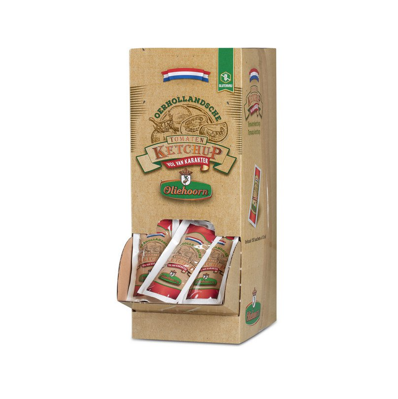 Oliehoorn | Oerhollandse ketchup | 150 x 15 ml sachets