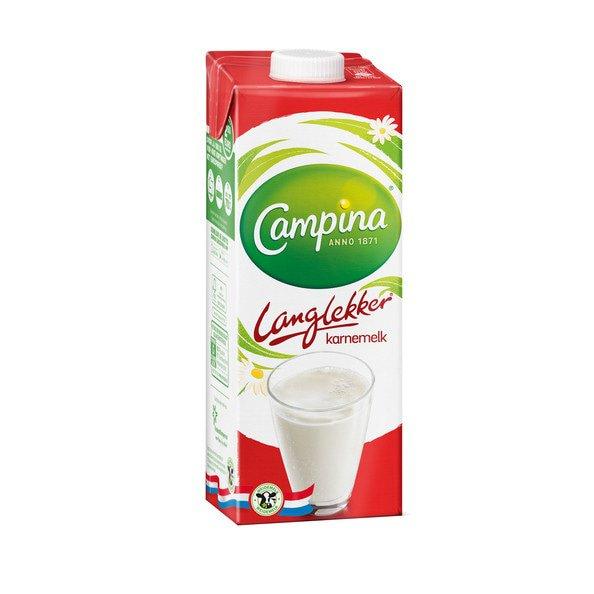 Campina Langlekker | Karnemelk | Pak 12 x 1 liter