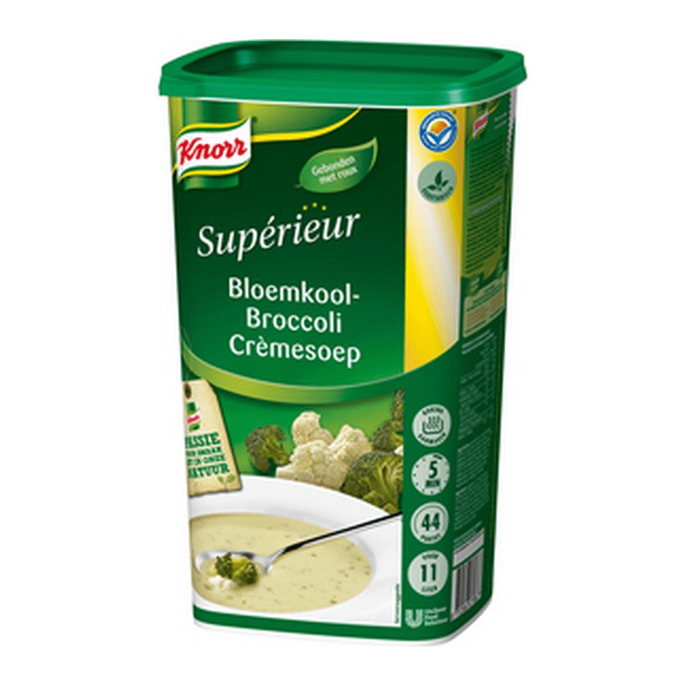 Knorr   Superieur   Bloemkool-Broccolicrème   9 liter