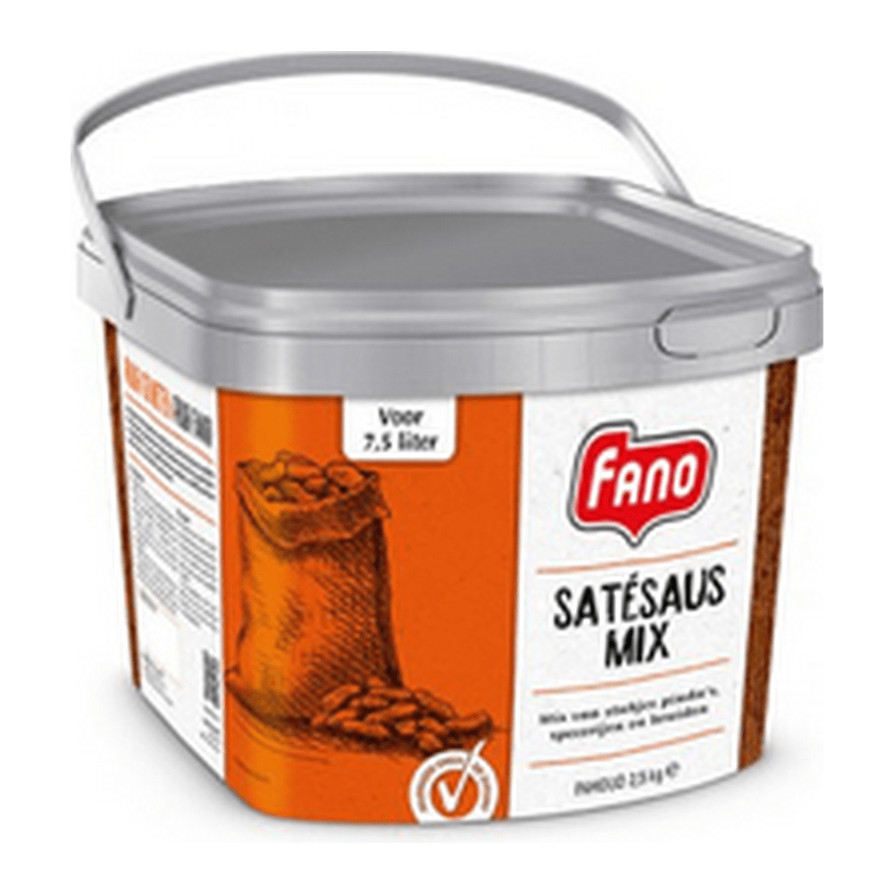 Fano | Satésaus mix | Emmer 2,5 kg