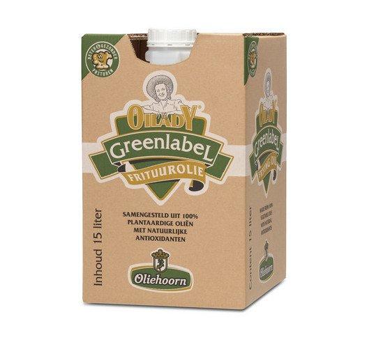 Oliehoorn | Frituurolie | Green Label | 15 liter