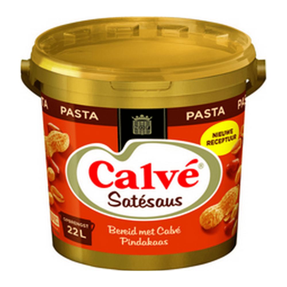 Calvé | Satésaus pasta | Emmer 10 kg