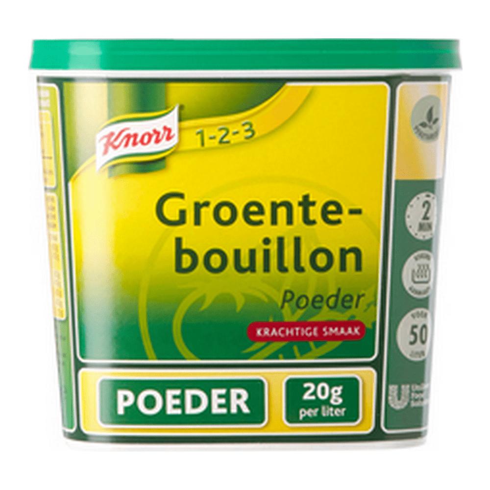 Knorr | Groentenbouillon | Glutenvrij | 50 liter