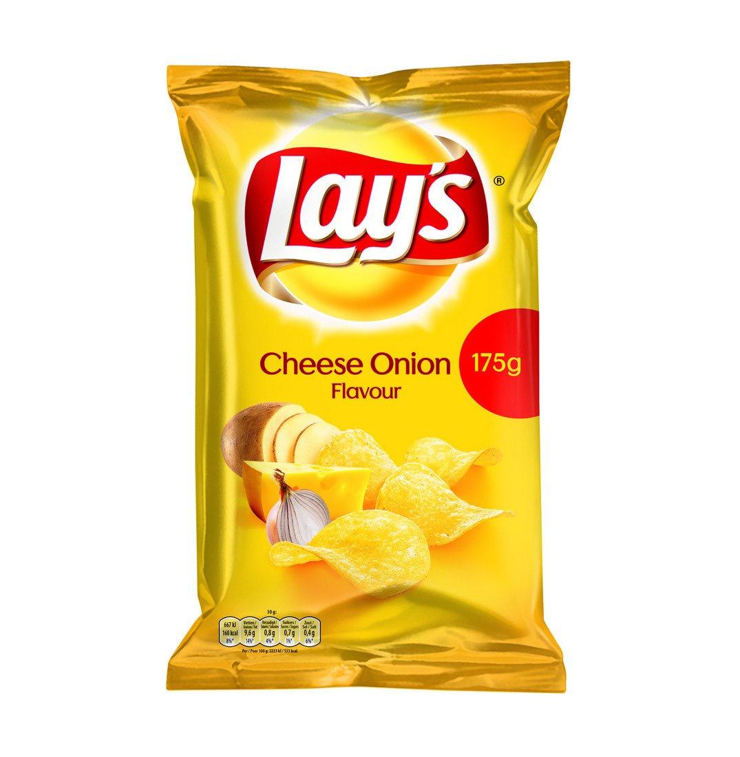 Lay's | Cheese Onion | 8 x 175 gram