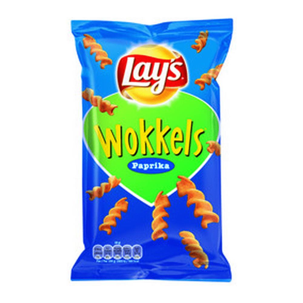 Lay's Wokkels Paprika 30 gr 24 zakjes