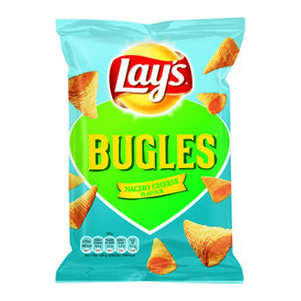 Lay´s Bugles Nacho Cheese 30 gr 24 zakjes