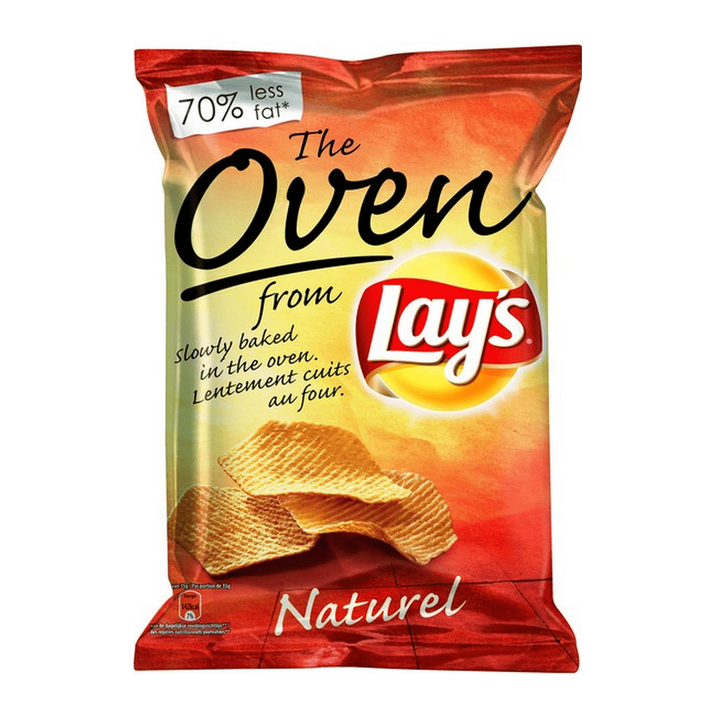 Lay's Oven Naturel 35 gr 20 zakjes