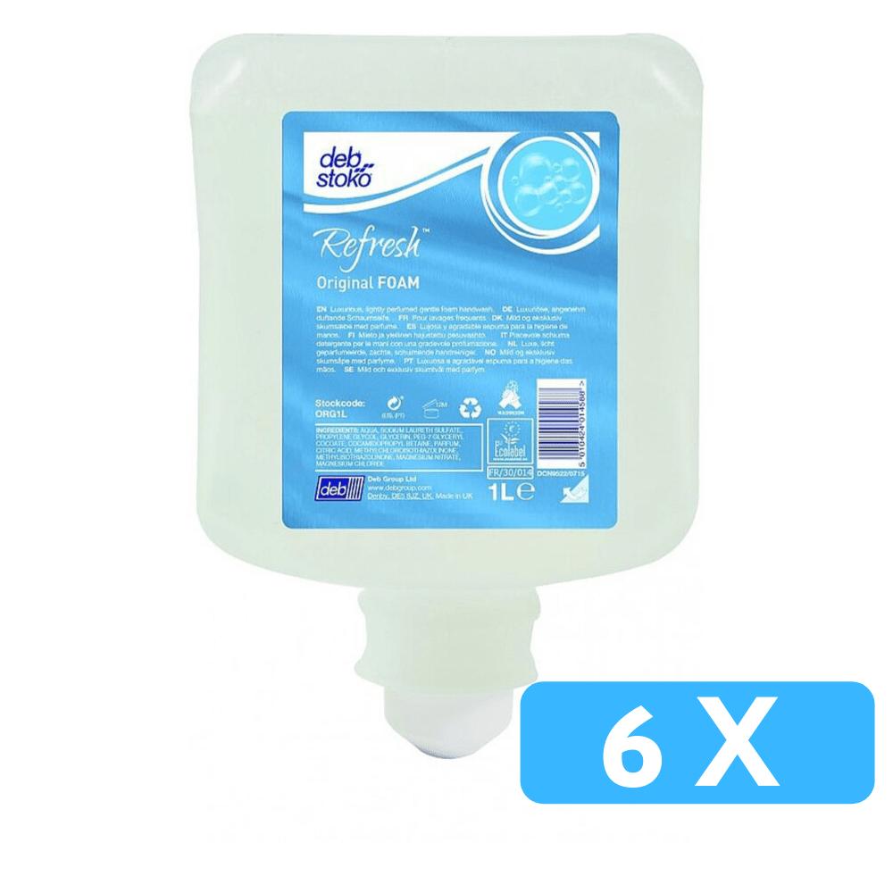 Deb | Original Foamzeep | Flacon 6 x 1 liter