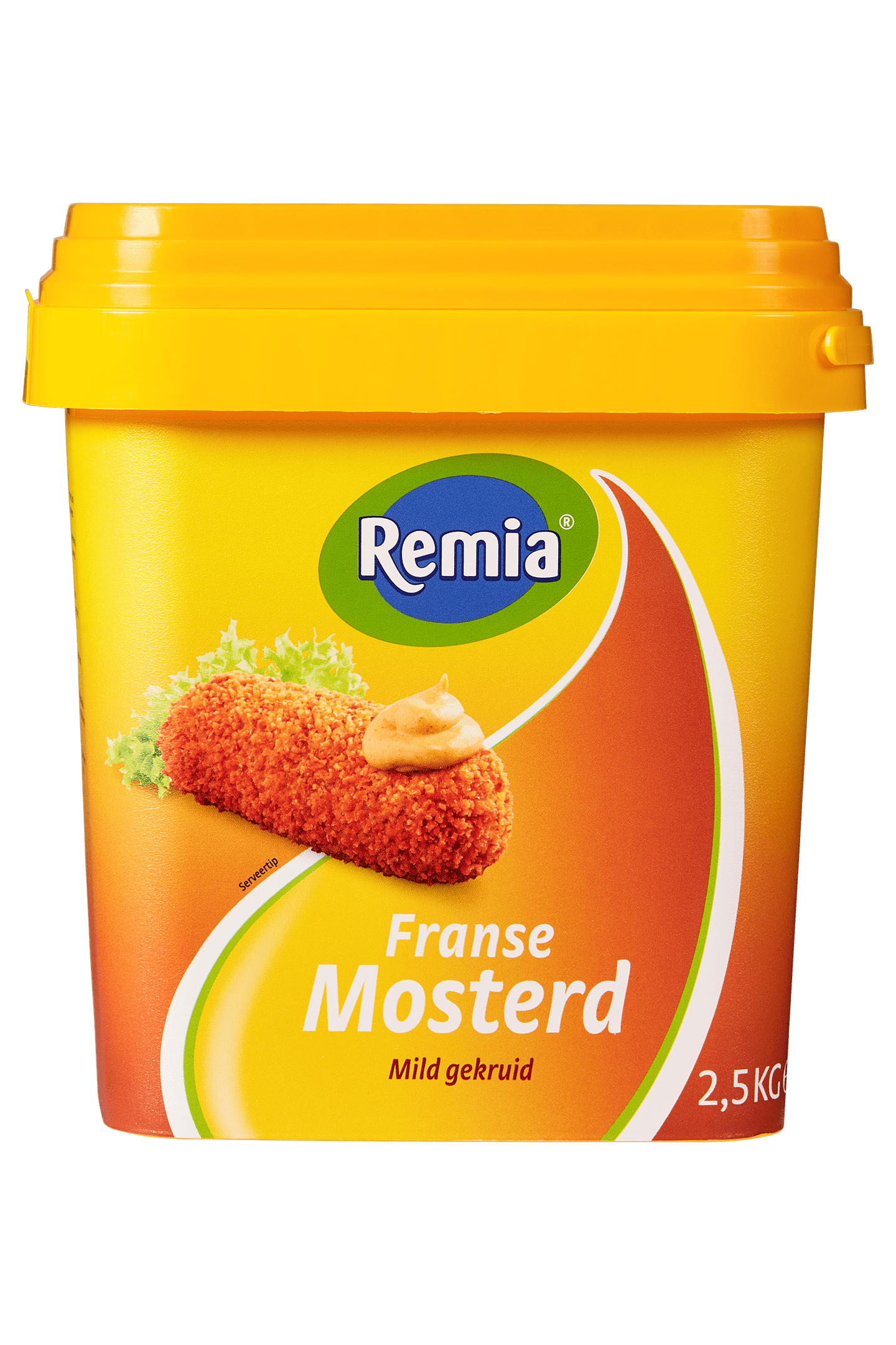 Remia | Franse mosterd | Emmer 2,5 kg