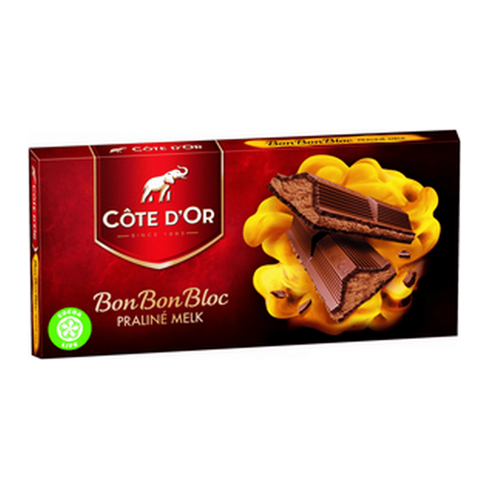 Côte d'Or | BonBonBloc | Praline | 15 stuks