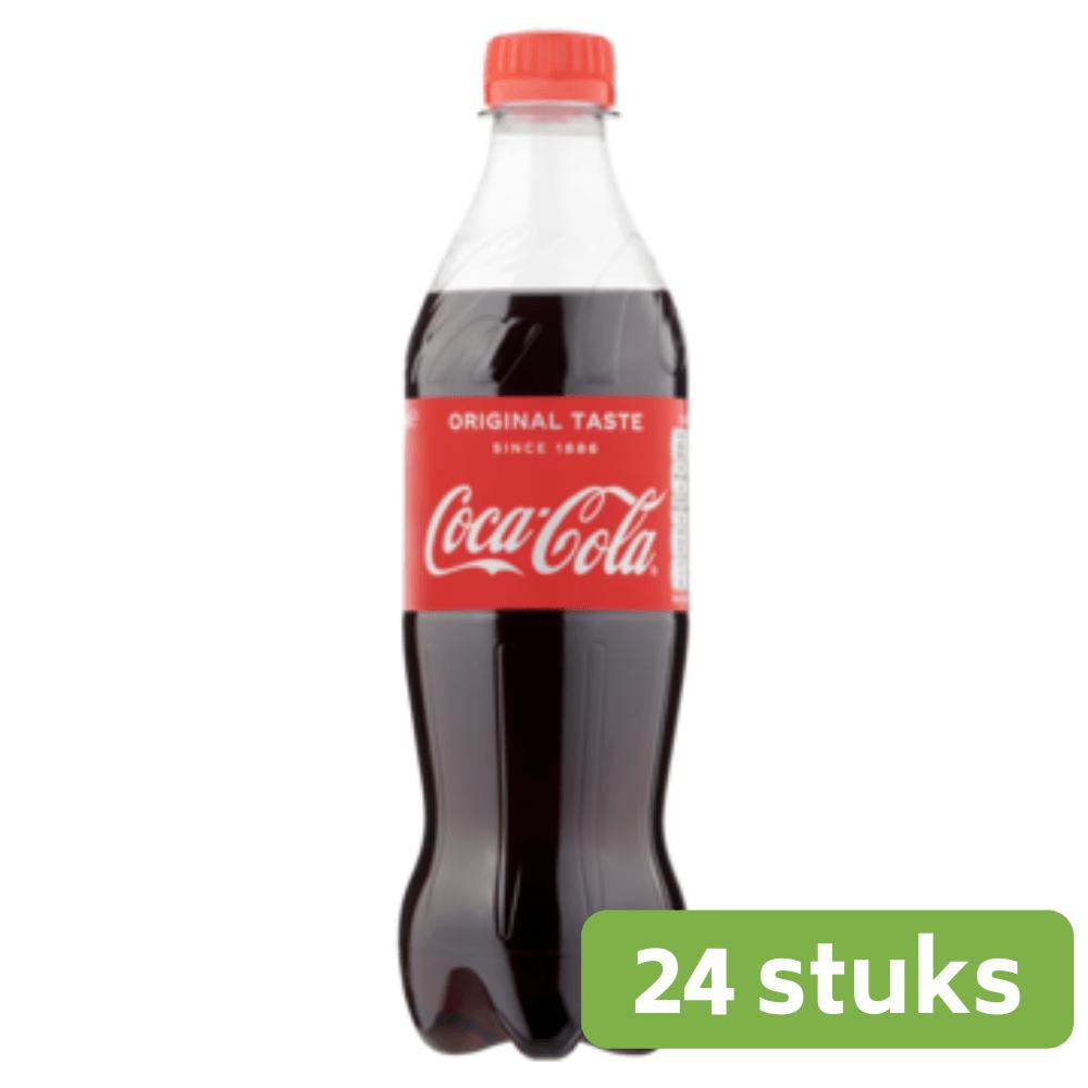 Coca Cola Regular | Petfles 24 x 0,5 liter