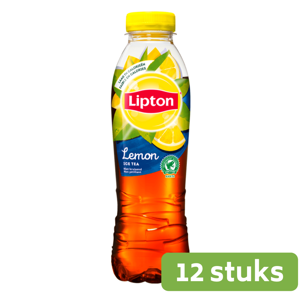 Lipton Ice Tea Lemon | Petfles 12 x 0,5 liter