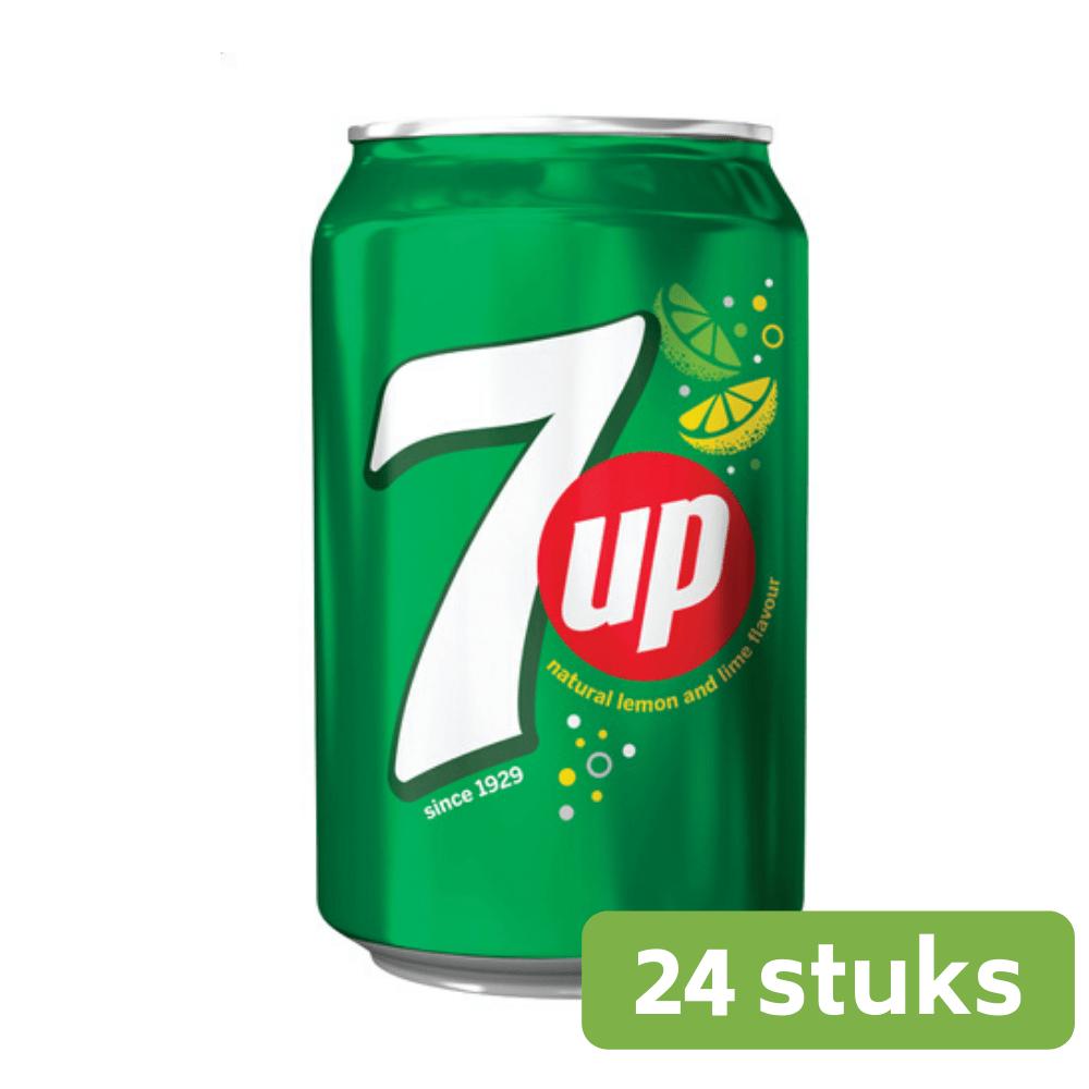 Seven Up Regular | Blik 24 x 33 cl