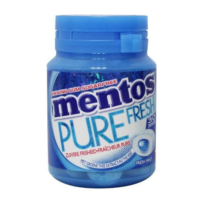 Mentos | Pure Fresh Mint | 6 potten