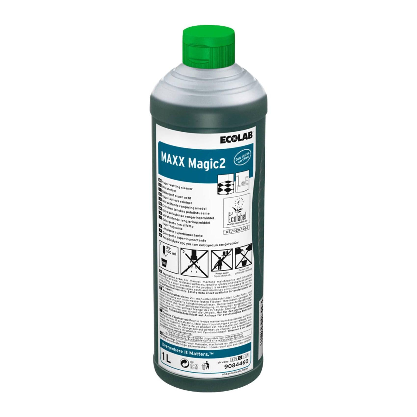 Ecolab Magic   Maxx2   Allesreiniger   Fles 12 x 1 liter