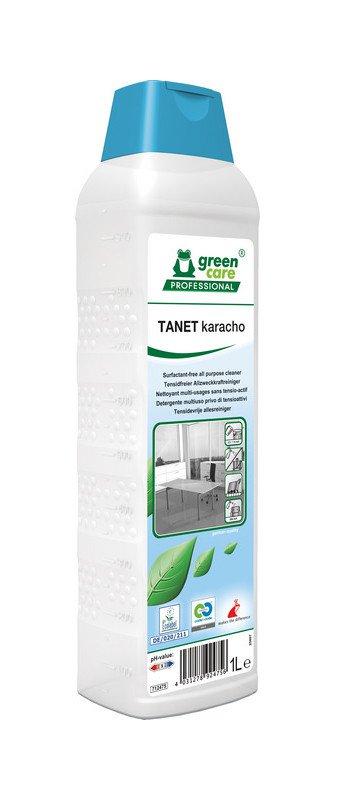 Green Care   Tanet Karacho   Tapijtreiniger en Vloerreiniger   Fles 10 x 1 liter