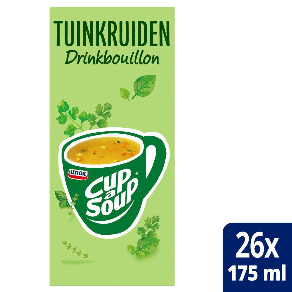 Cup-a-Soup | Tuinkruiden | 26 x 175 ml