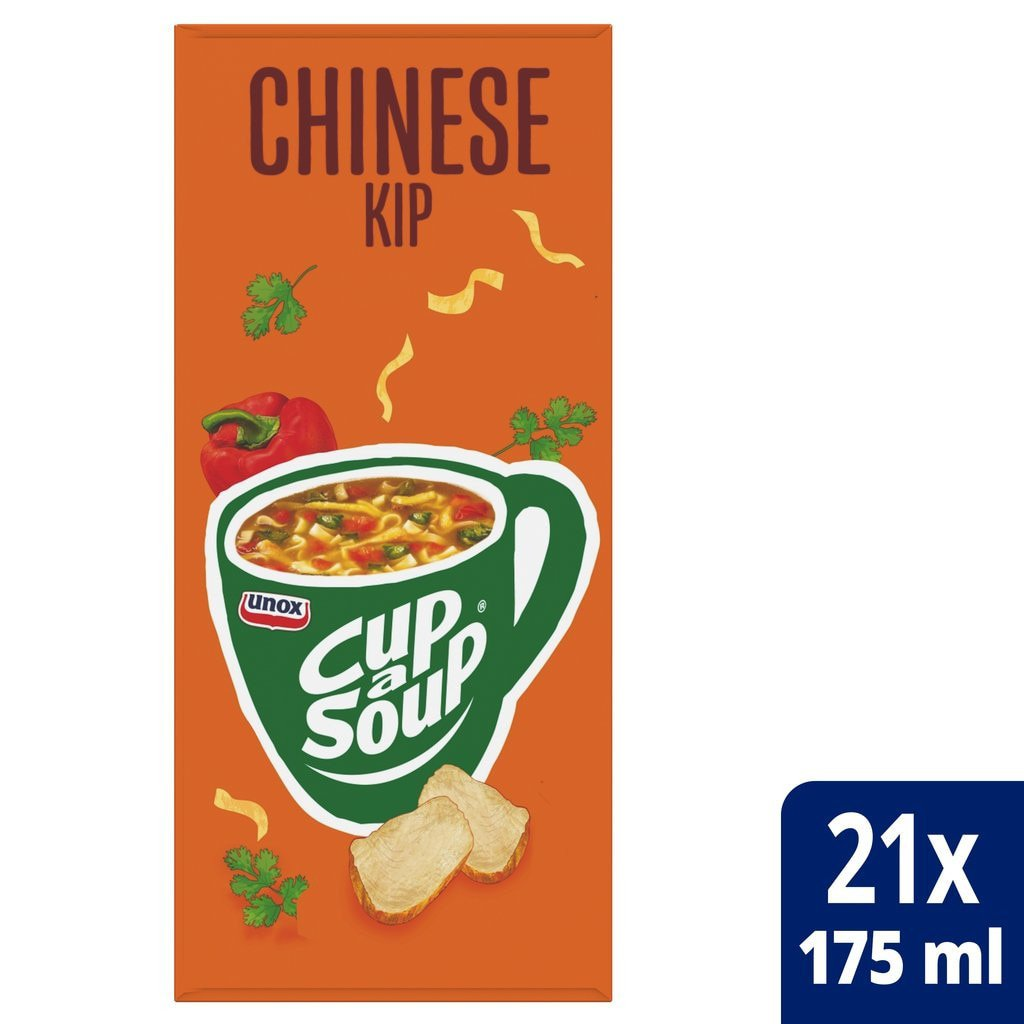 Cup-a-soup | Chinese kip | 21 x 175 ml