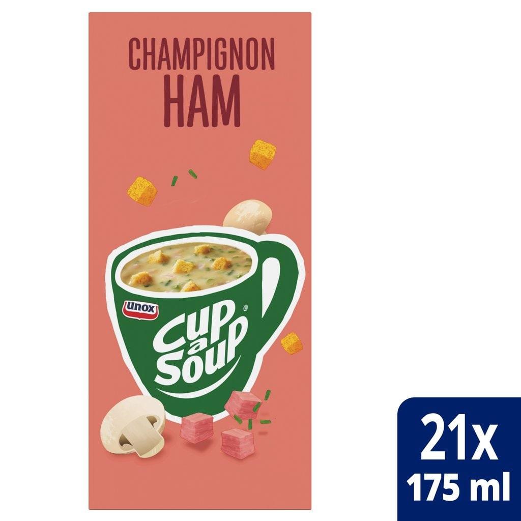 Cup-a-Soup | Champignon- ham | 21 x 175 ml