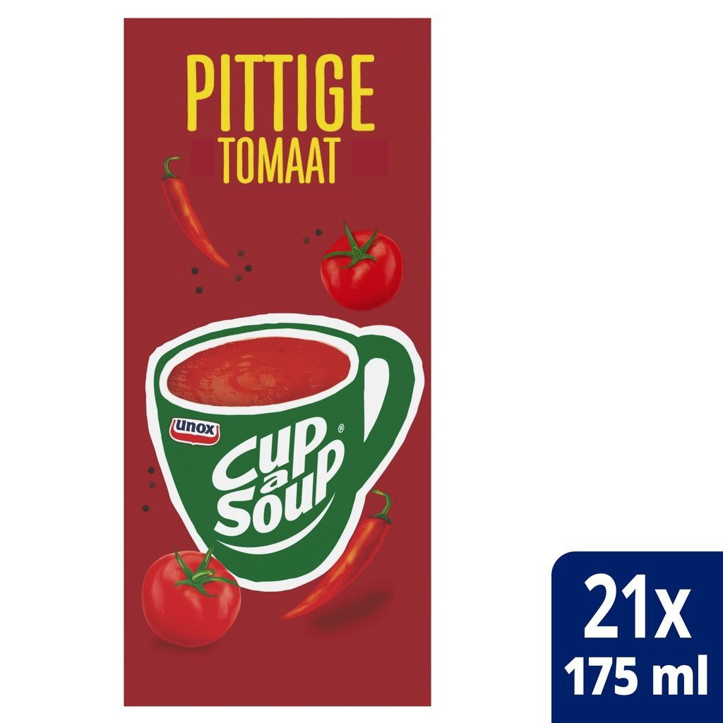 Cup-a-Soup   Spicy tomaat   21 x 175 ml