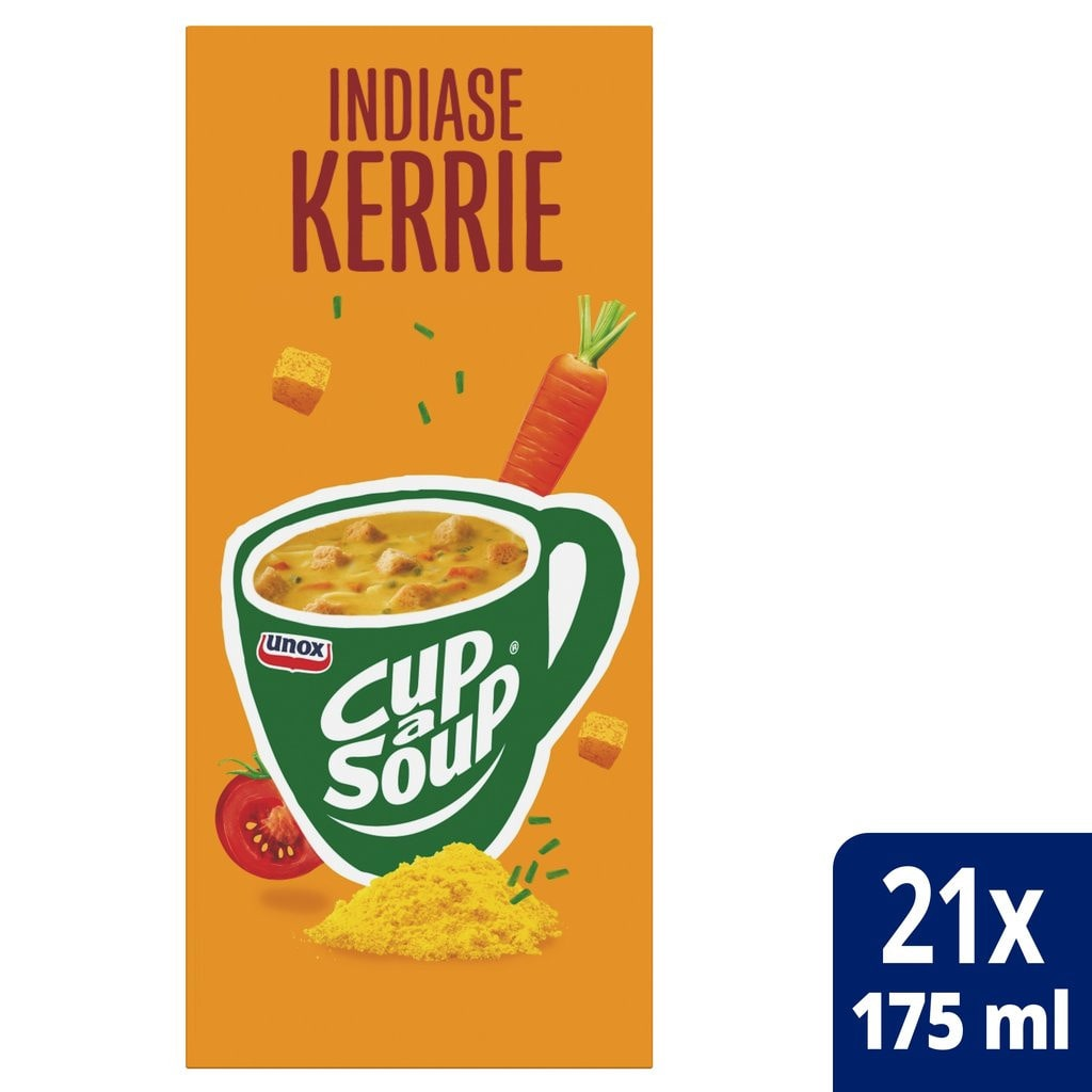 Cup-a-Soup | Indiase Kerrie | 21 x 175 ml