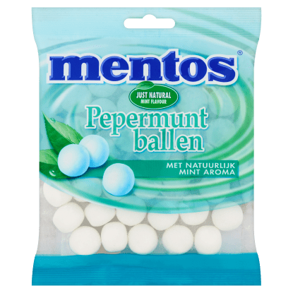 Mentos | Pepermuntballen | 12 x 242 gram