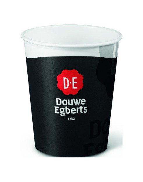 Douwe Egberts | Koffiebeker | Karton | 250 ml | 1600 stuks