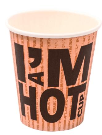 I'm a Hot Cup 150 ml 20 x 50 stuks