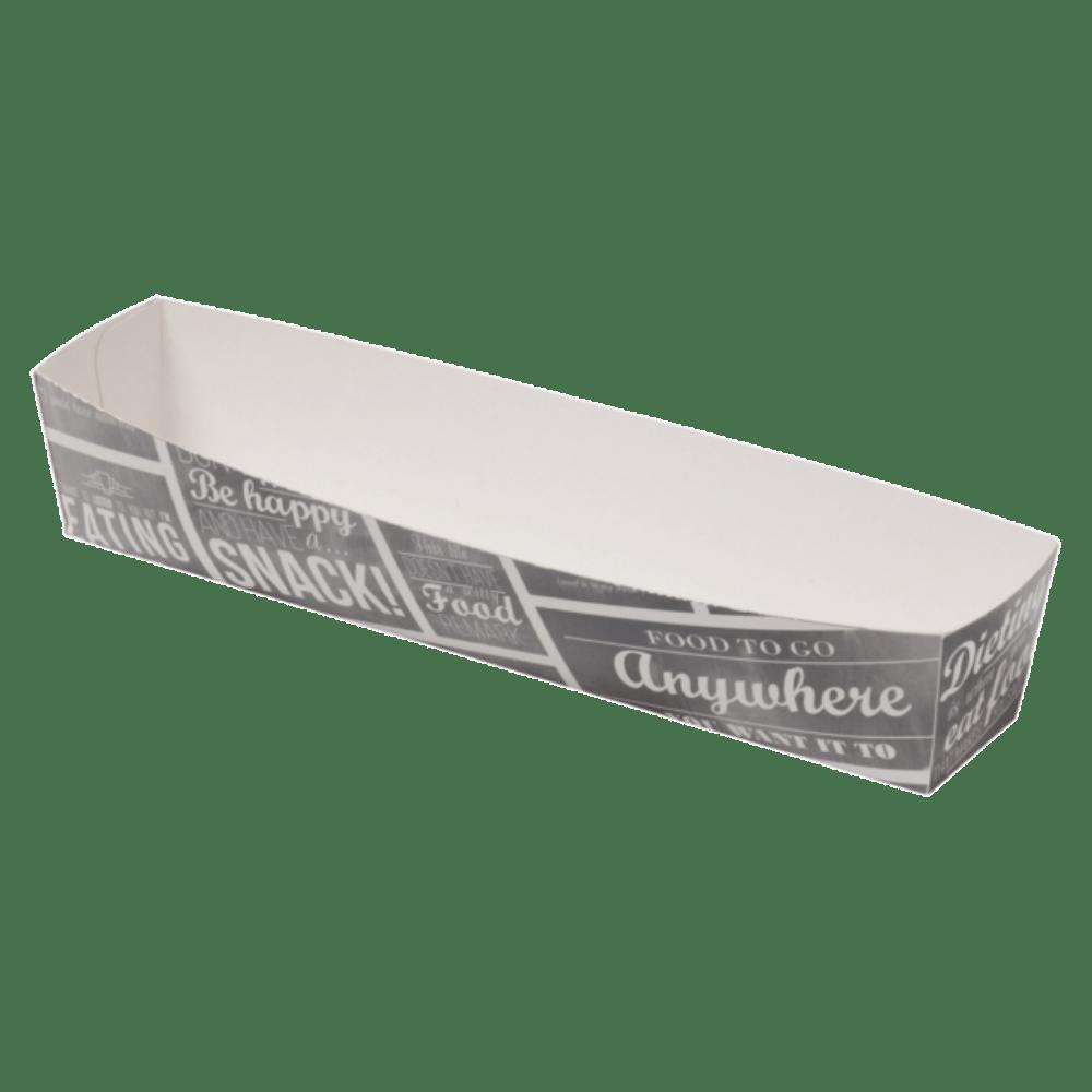 Pubchalk Bak Karton en coating 185 x 33 x 35 mm wit-grijs 4 x 100 stuks