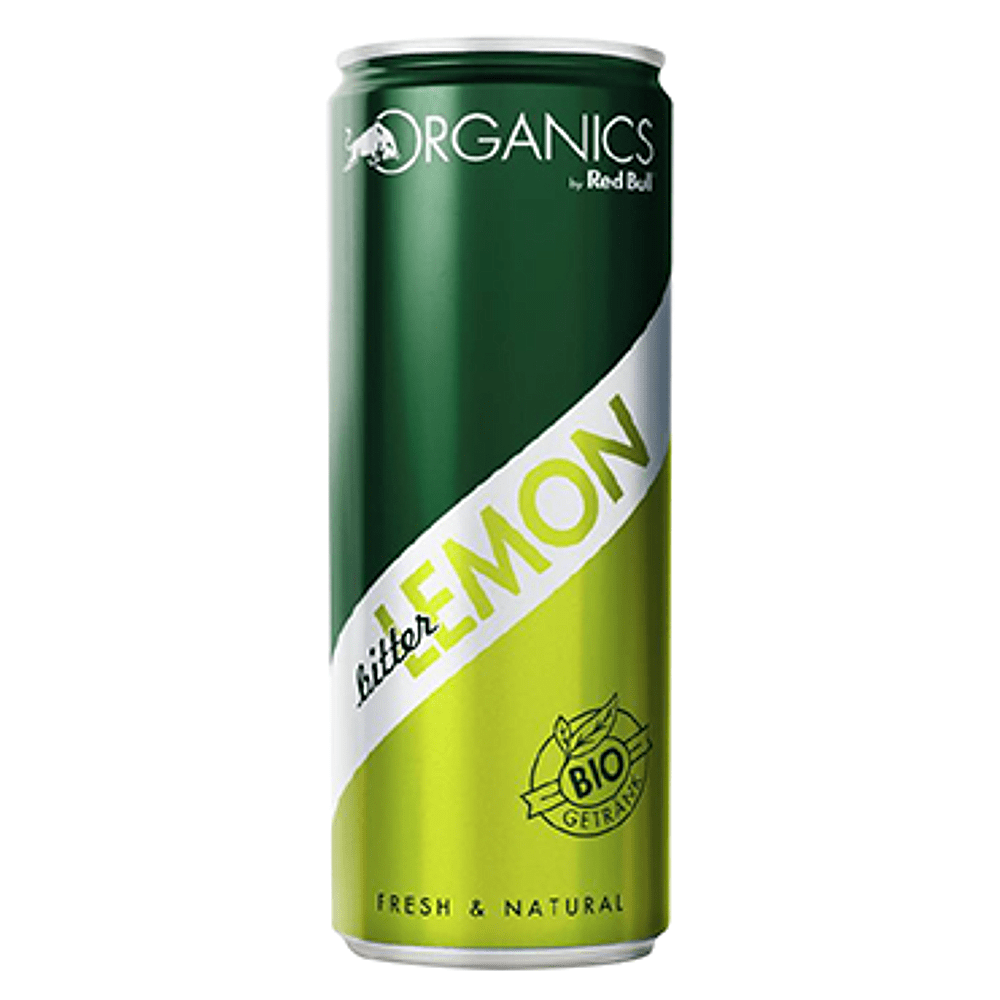 Red Bull Organics Bitter Lemon 250 ml 12 stuks