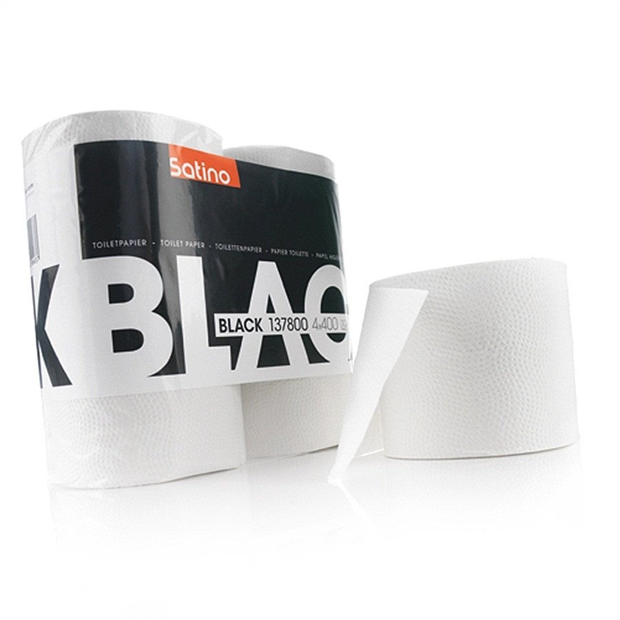 Satino Black 137800 toiletpapier 2-laags wit 40 x 400 vel