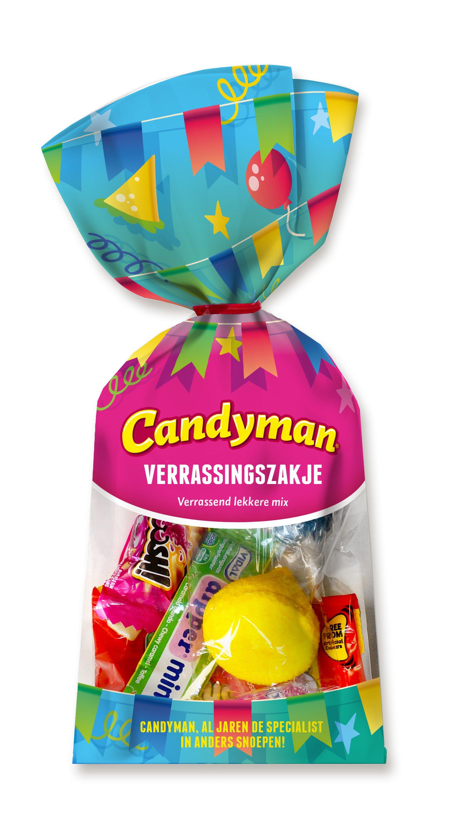 Candyman | Verrassingszakje | 12 stuks