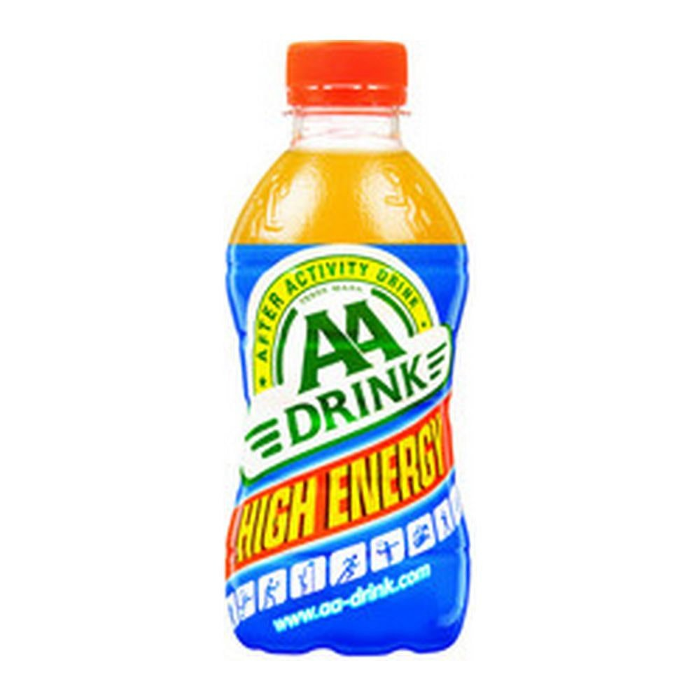 AA Drink High Energy Oranje | Petfles 24 x 33 cl