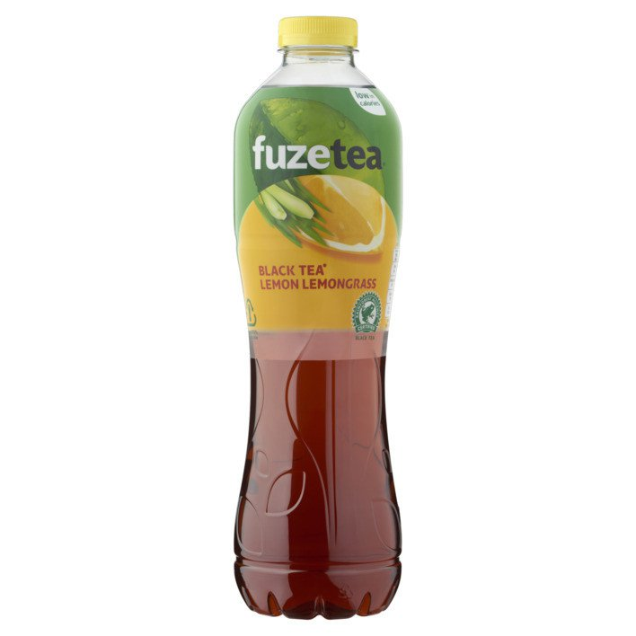 Fuze Black Tea Lemon Lemongrass | 12 x 0,4 liter