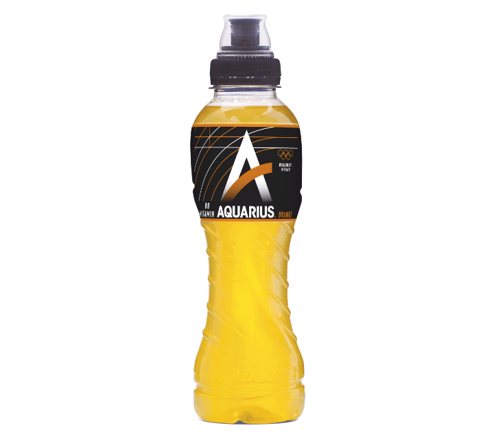 Aquarius Orange | Petfles 12 x 0,5 liter