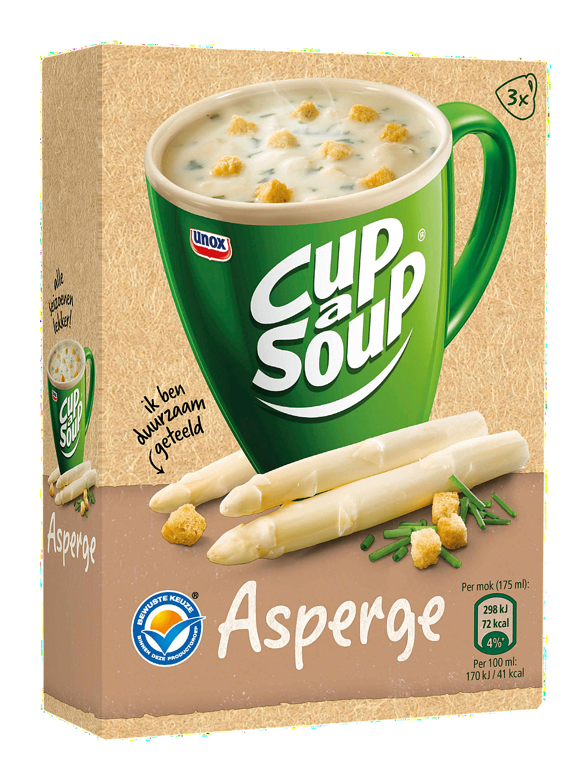 Cup-a-Soup | Asperge | 21 x 175 ml
