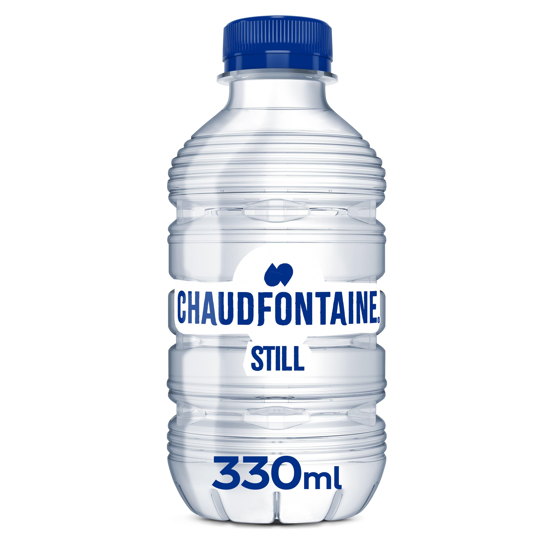 Chaudfontaine blauw   Petfles 24 x 33 cl