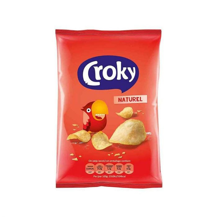 Croky | Naturel | 20 x 40 gram