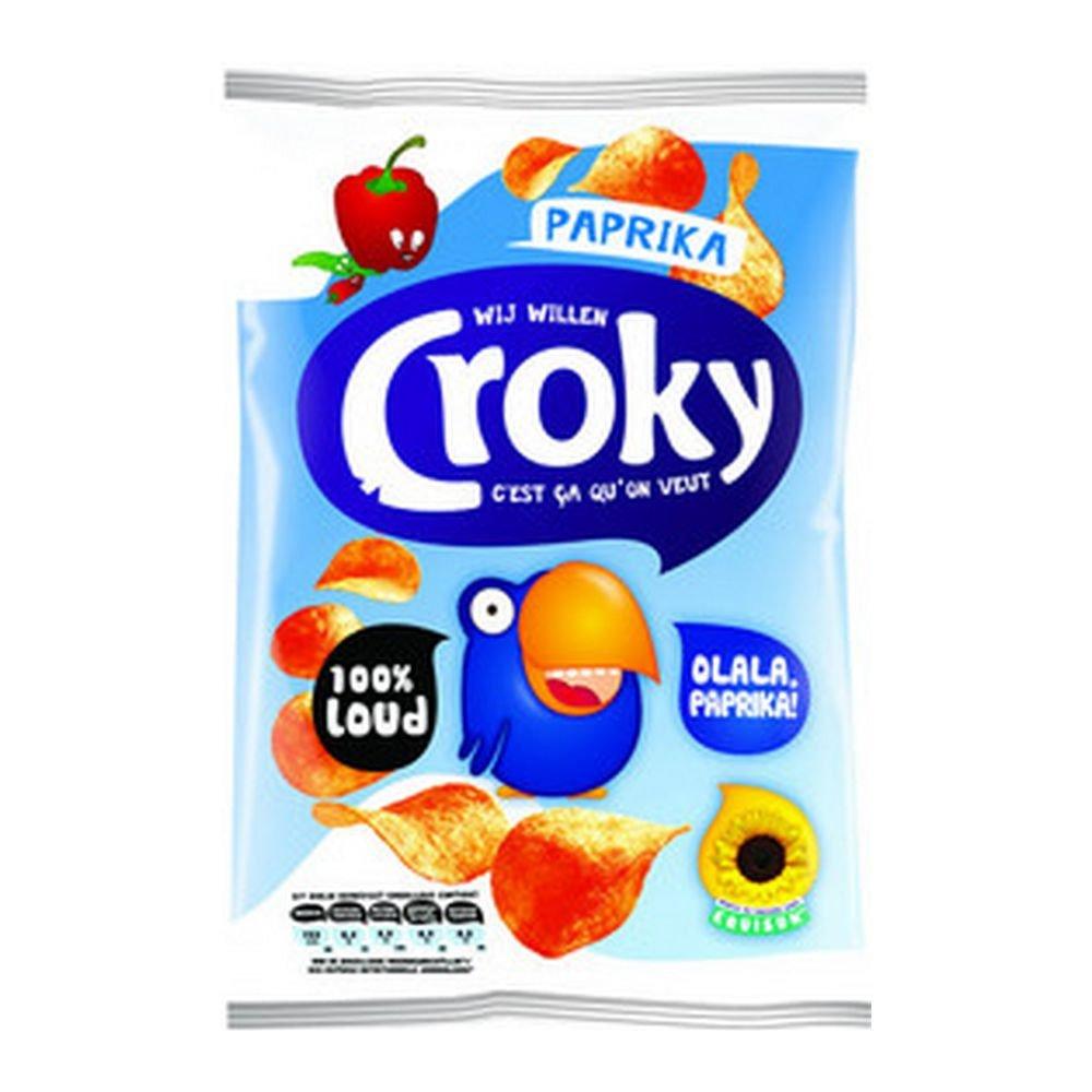Croky Paprika, 40 gram à 20 stuks