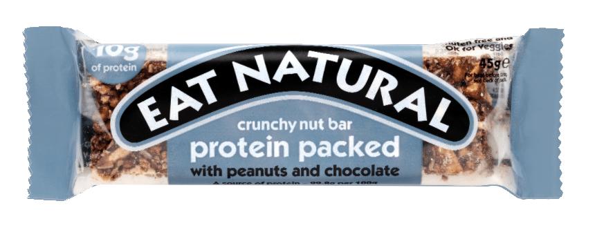 Eat Natural | Crunchy nut bar | Peanuts & Chocolate | 12 repen