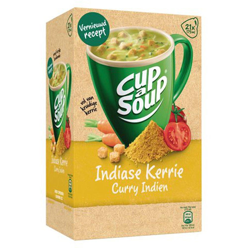 Unox Cup-a-Soup Indiase Kerrie 175ml a 21 zakjes