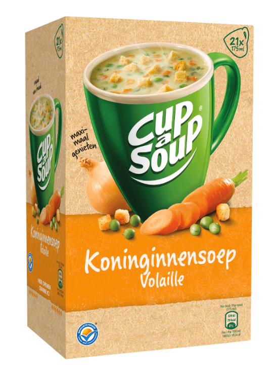 Cup-a-Soup   Koninginnesoep   21 x 175 ml