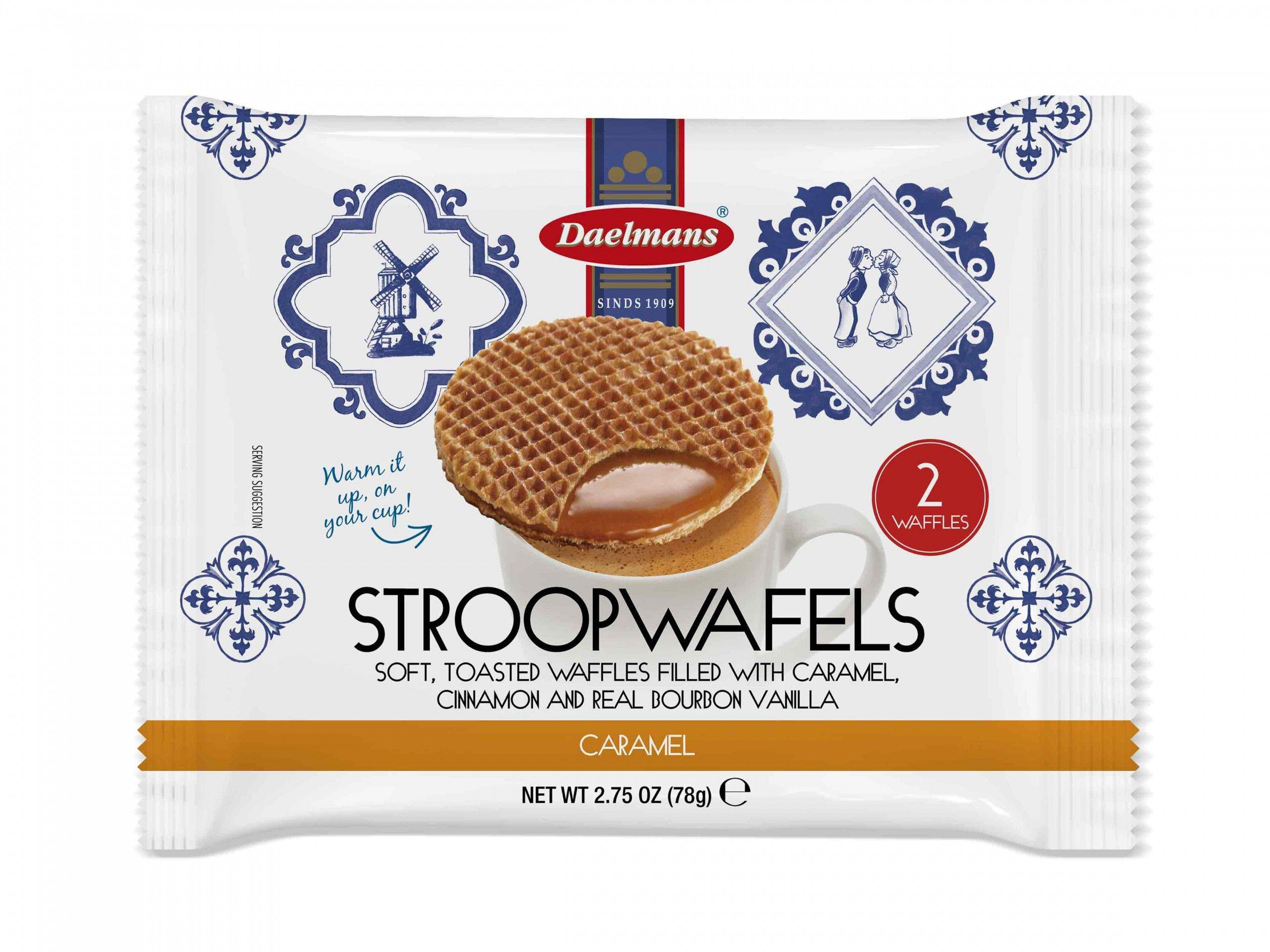 Daelmans | Jumbo Stroopwafels | 2- pack | 18 stuks
