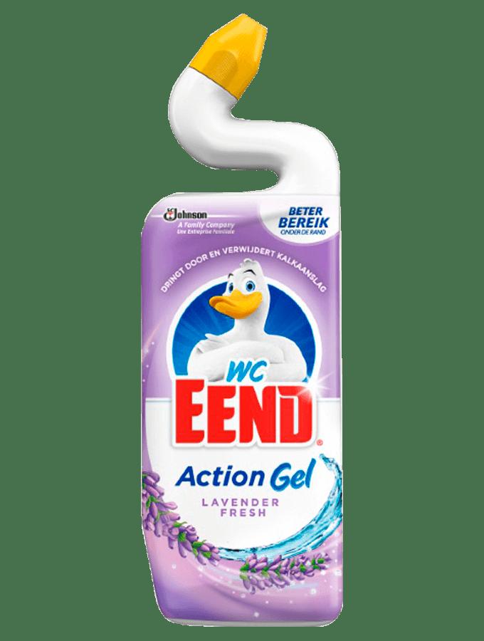 WC eend | Toiletreiniger | Lavender fresh | Fles 12 x 750 ml