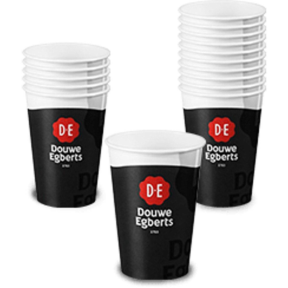 Douwe Egberts | Koffiebeker | Karton | 350 ml | Doos 1248 stuks