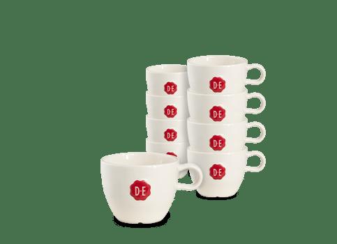Douwe Egberts | Cappuccino kop | 240 ml | 12 stuks