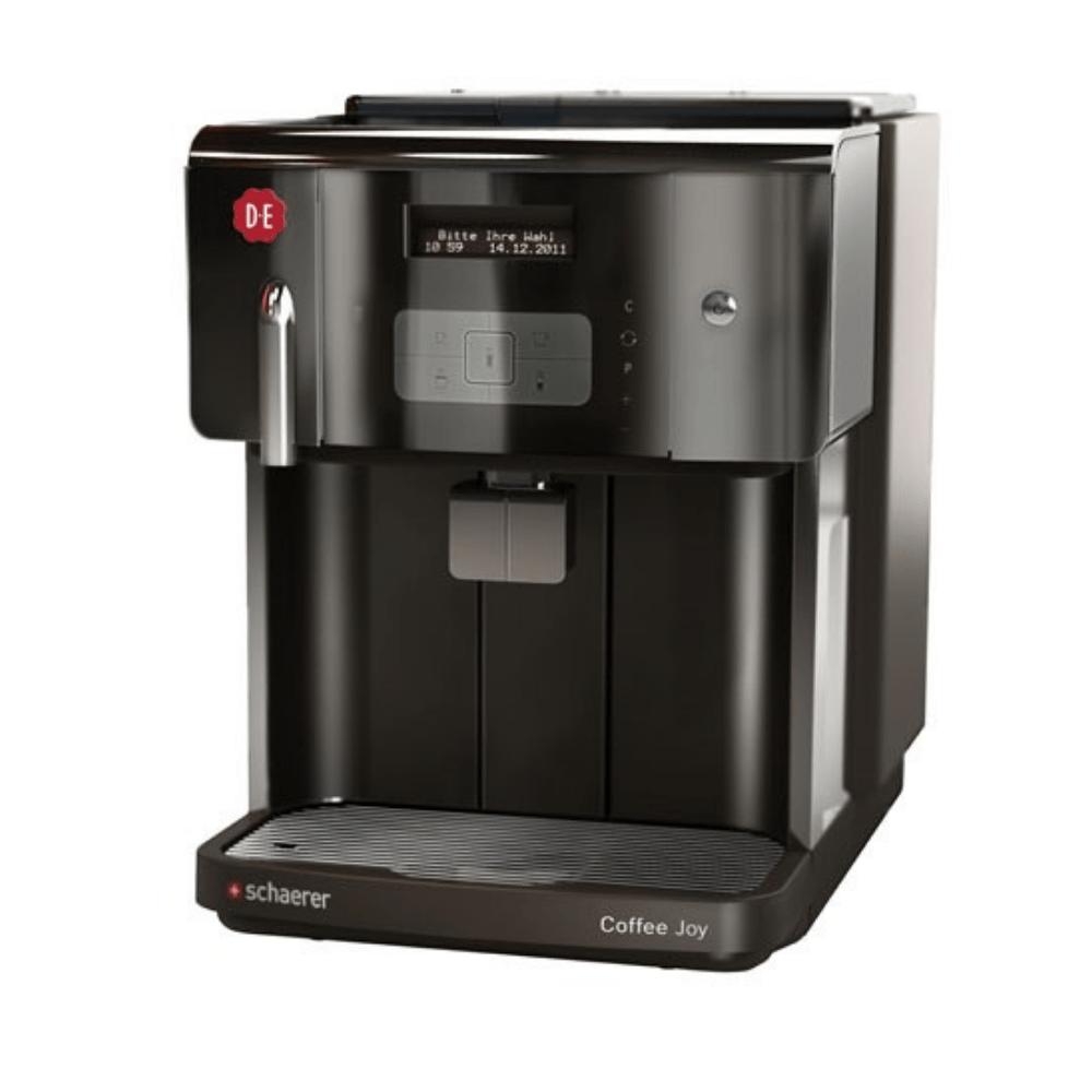Douwe Egberts | Schaerer Coffee Joy | Wateraansluiting