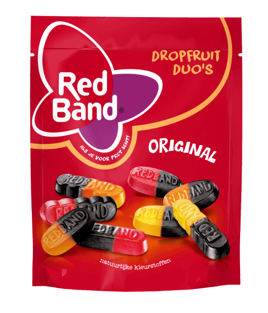 Red Band | Dropfruit Duo's | 10 x 220 gram