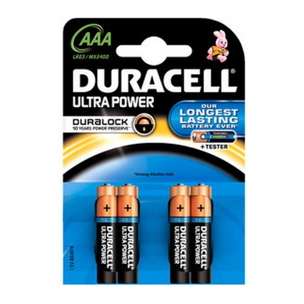 Duracell   Ultra AAA MN2400   10 x 4 stuks